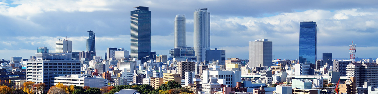 名古屋市街のイメージ
