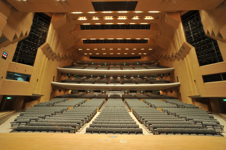 センチュリーホール座席の写真