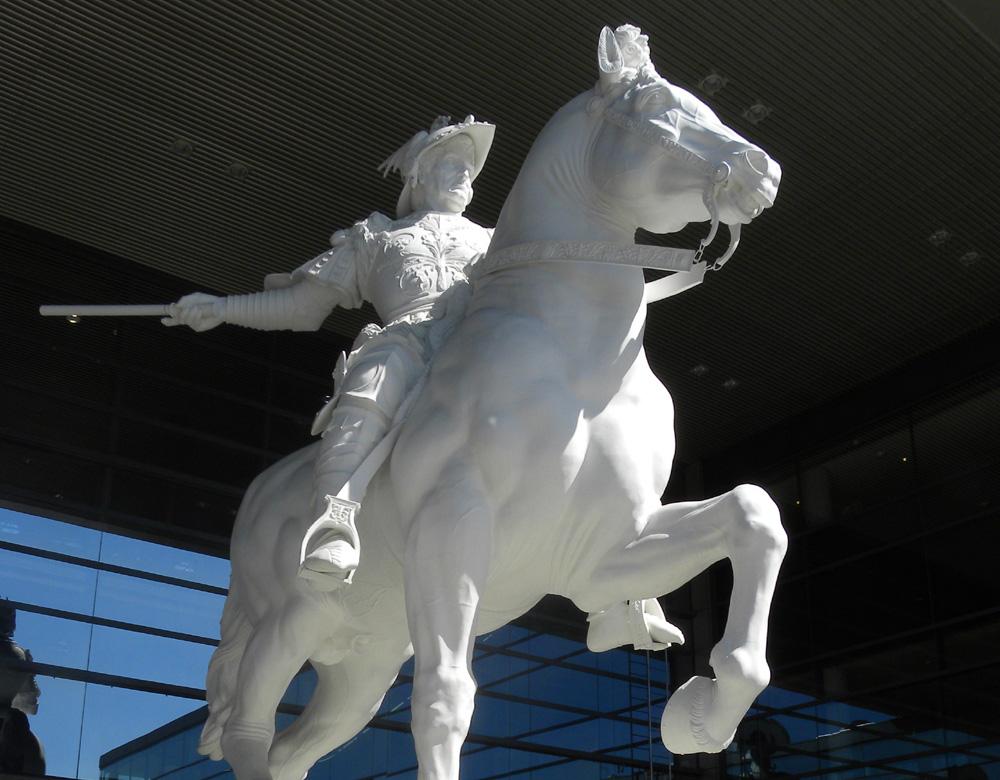 幻のスフォルツァ騎馬像のイメージ